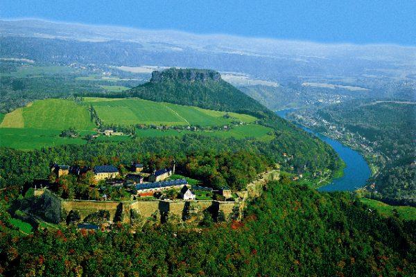 Lilienstein-Luftbild